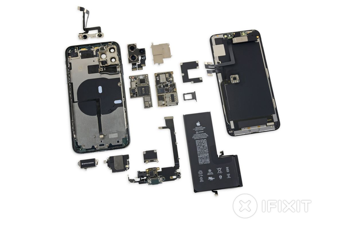 Here S What We Learned From Ifixit S Iphone 11 Teardown The Verge