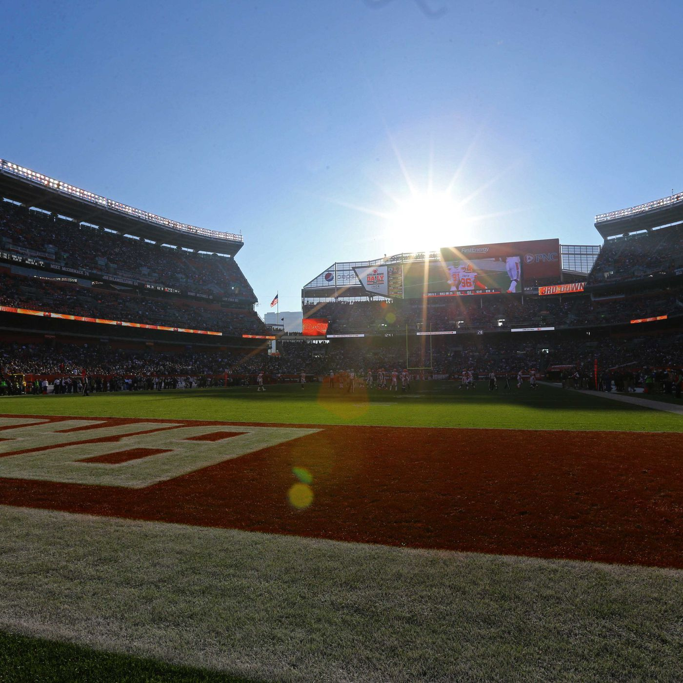 Getty Images The Philadelphia Eagles And Cleveland Browns