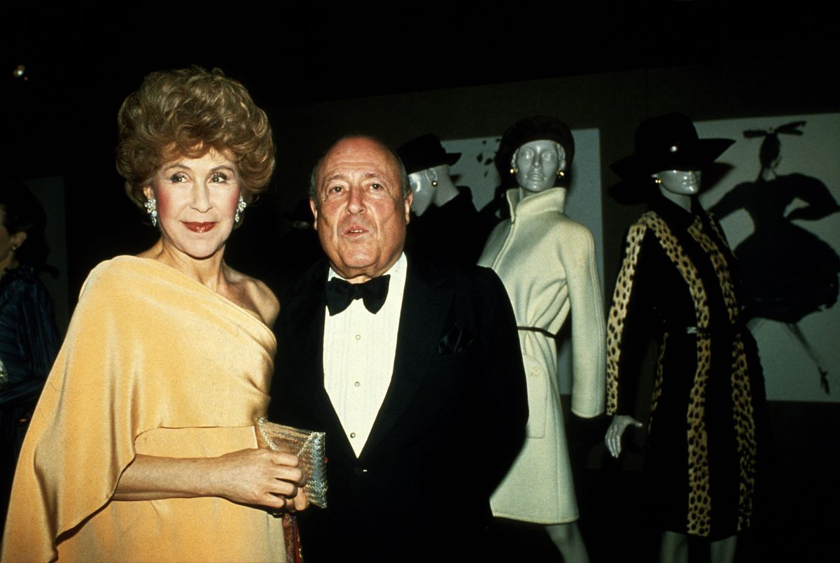 Betsy Bloomingdale and Jerry Zipkin