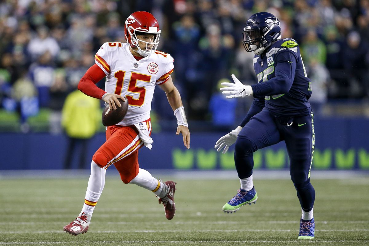 Chiefs' Frank Clark and Patrick Mahomes want to make each other great