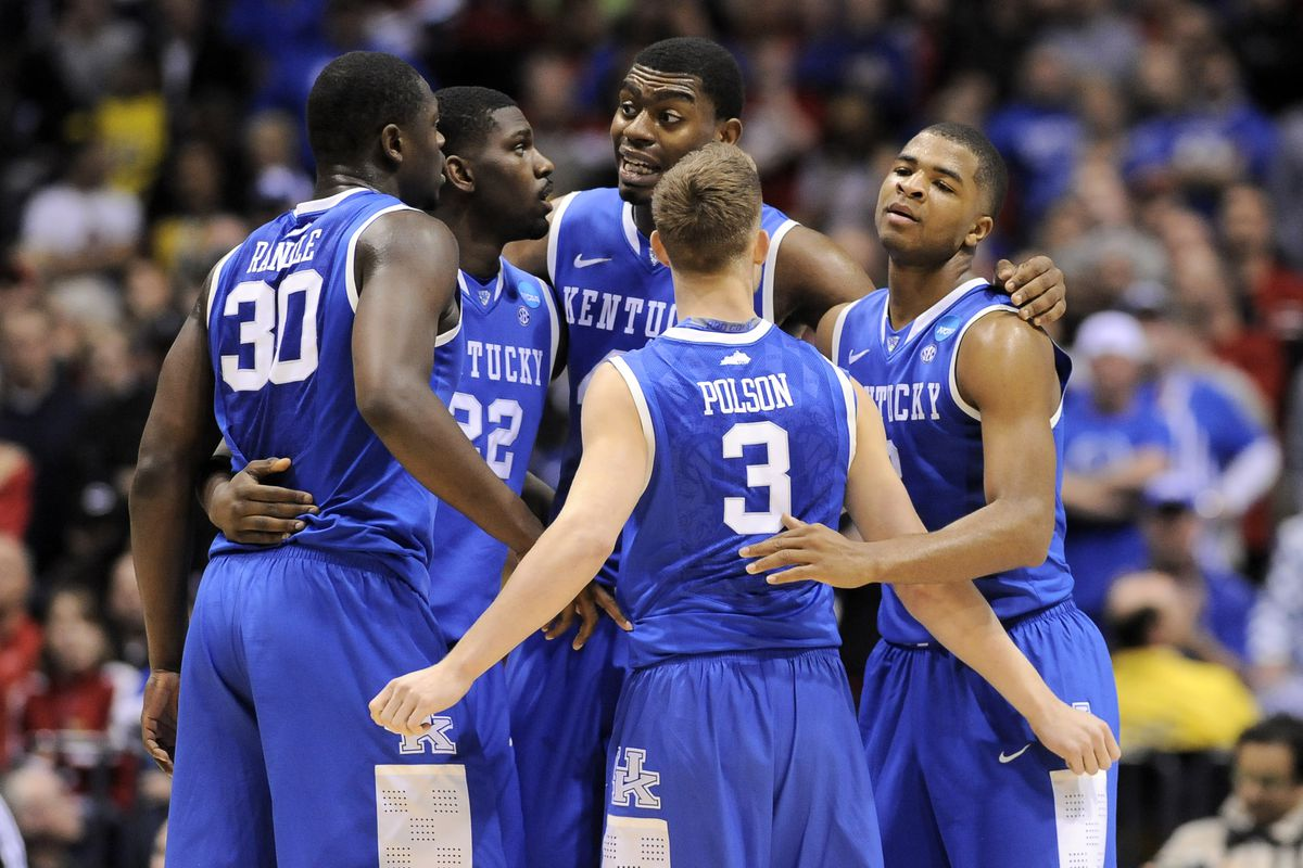 Kentucky Basketball Preview Wildcats Will Be Elite Again: 2014 NCAA Regional Final: Kentucky Wildcats Vs. Michigan