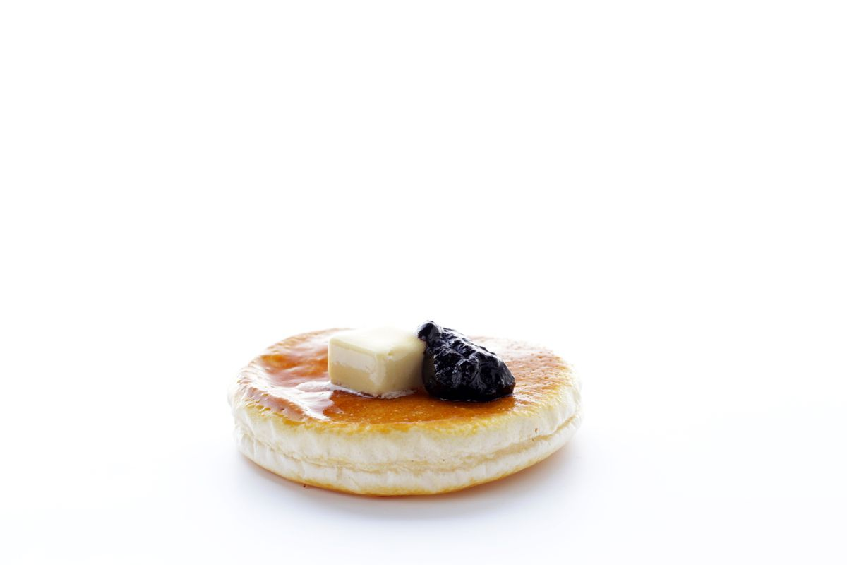 Albert Adria's pancake at Cakes and Bubbles on Regent Street