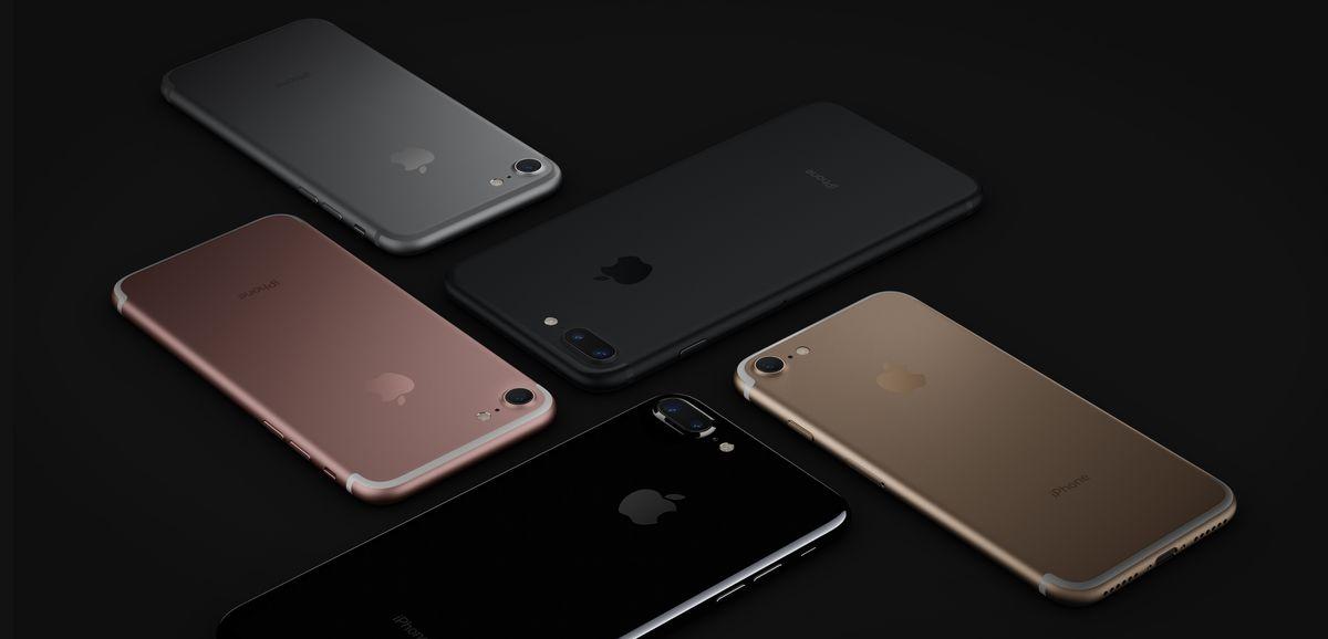 iPhone 7 and 7 Plus press photos