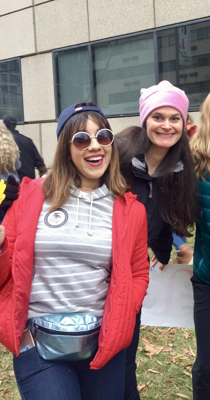 (Jasmine Fernandez, left, and Amanda,right)