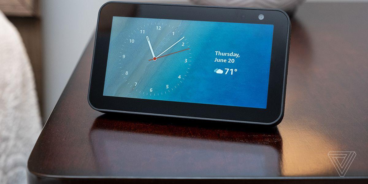 Amazon's Echo Show 5 is the smart alarm clock to get