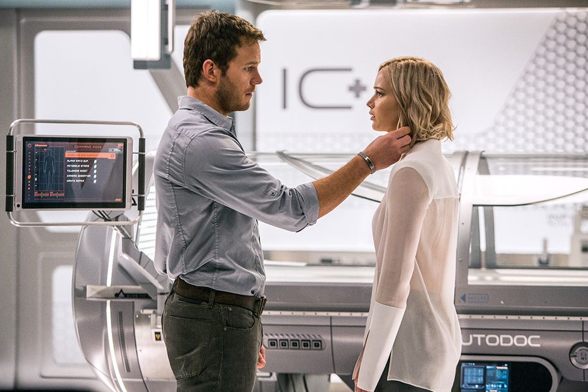 Passengers Review A Terrific Premise Wasted On A Terrible Space Romance The Verge Passengers