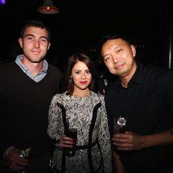Rob Pyne, Racked NY editor Tiffany Yannetta, and Racked NY photographer Will Chan