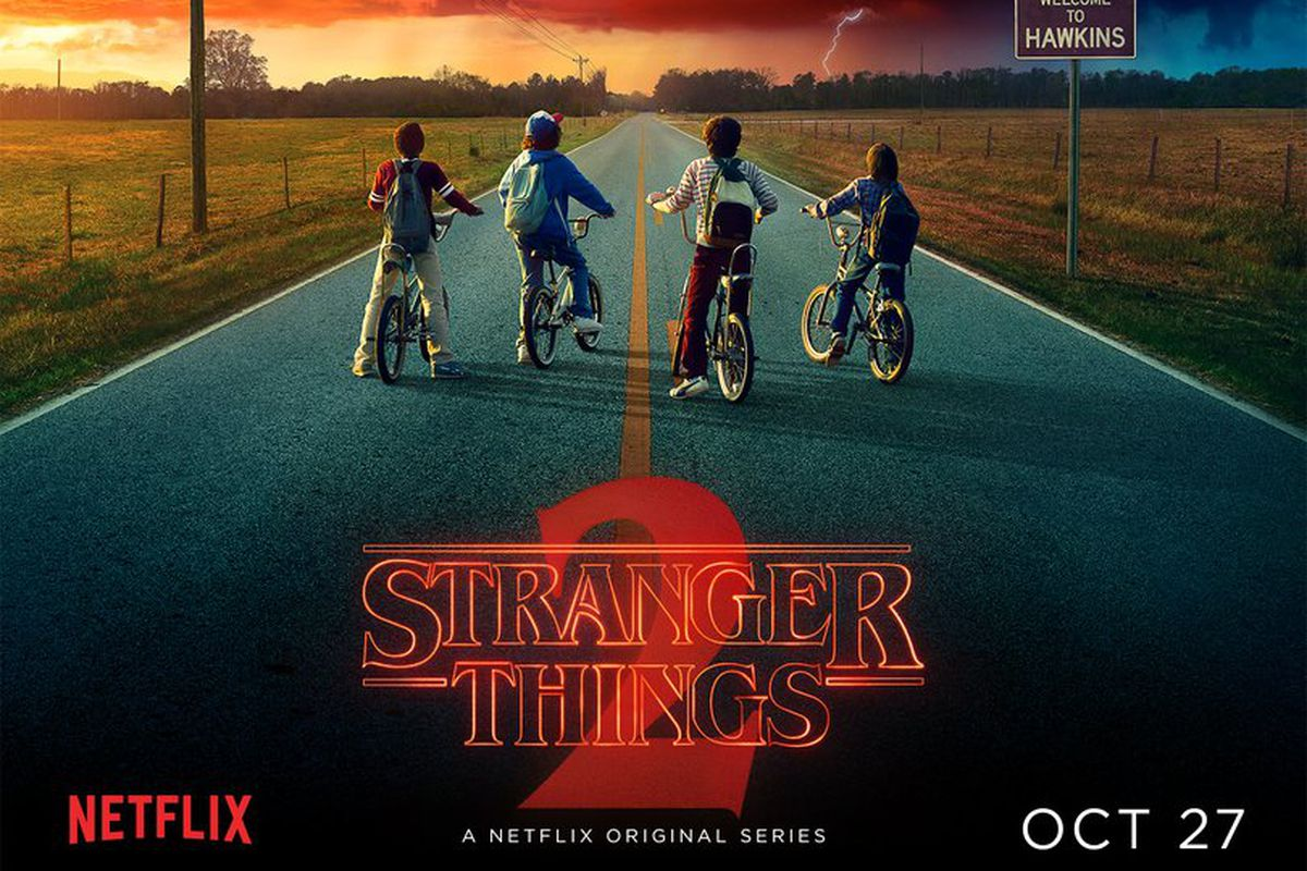promo poster for Stranger Things 2