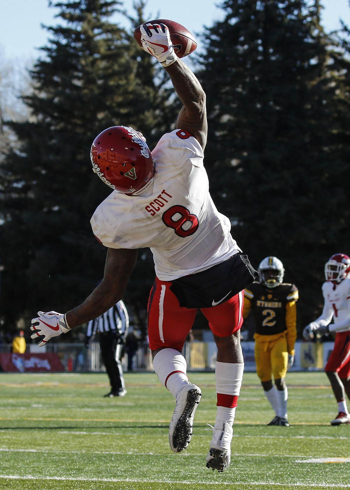 NCAA Football: Fresno State at Wyoming