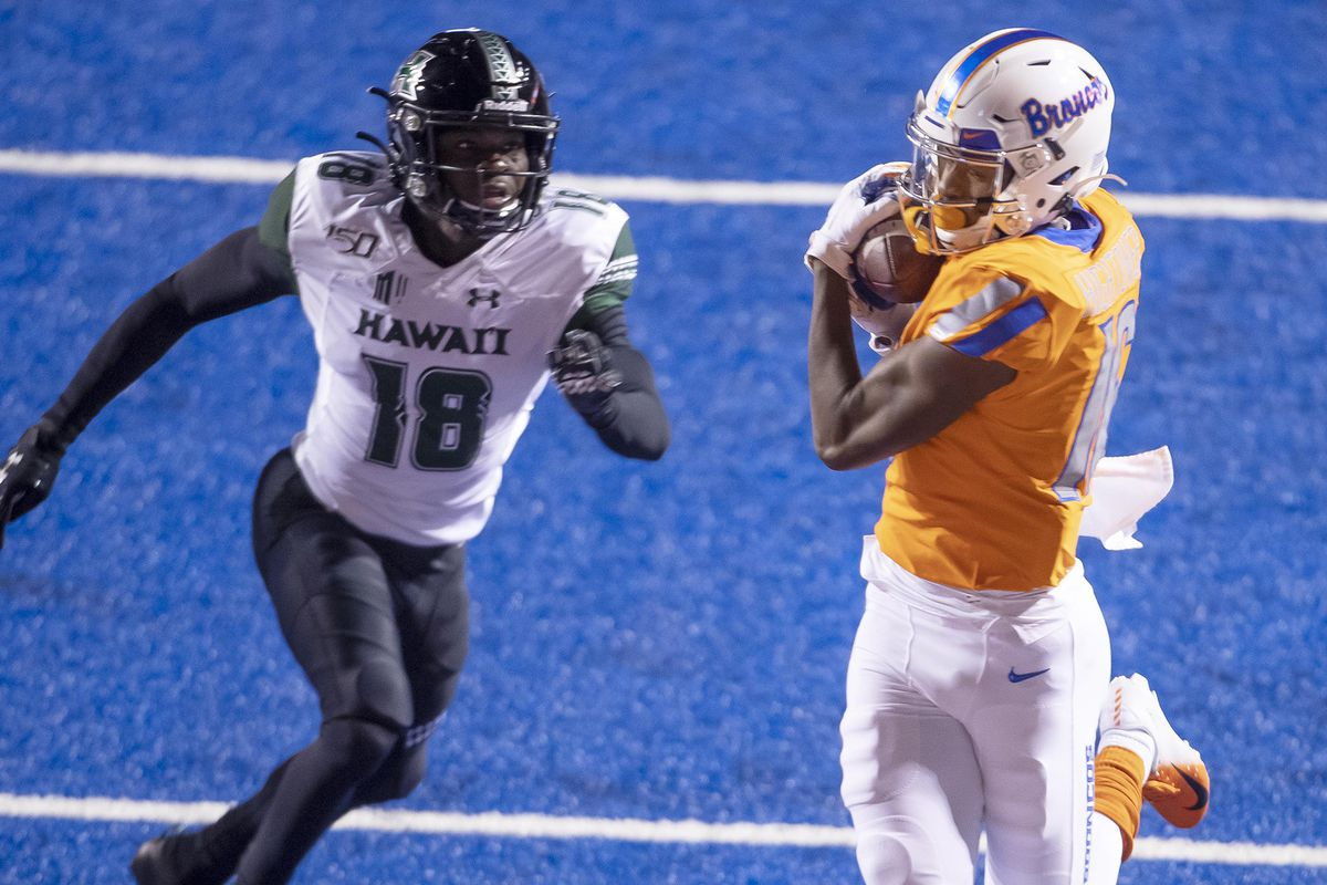Hawaii at Boise State