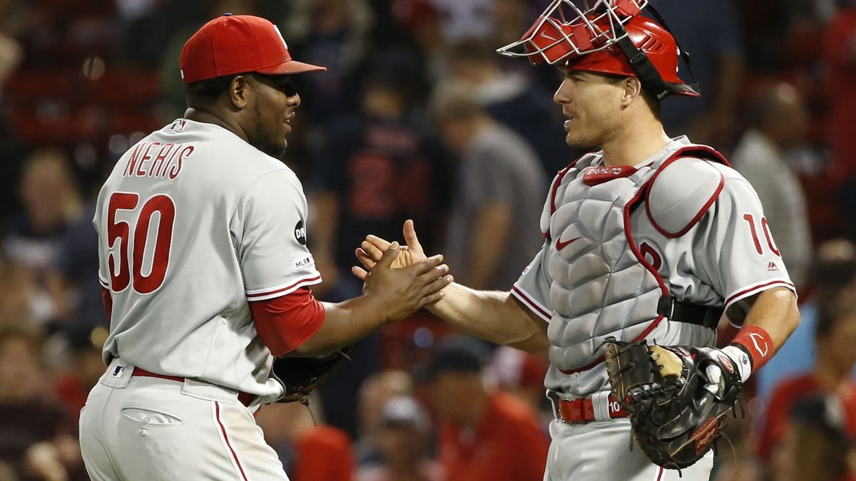 MLB: Philadelphia Phillies at Boston Red Sox