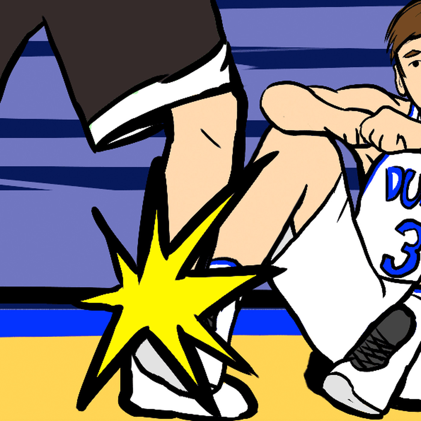 9078b586658 How Grayson Allen went from young Duke star to March Madness  most hated  player