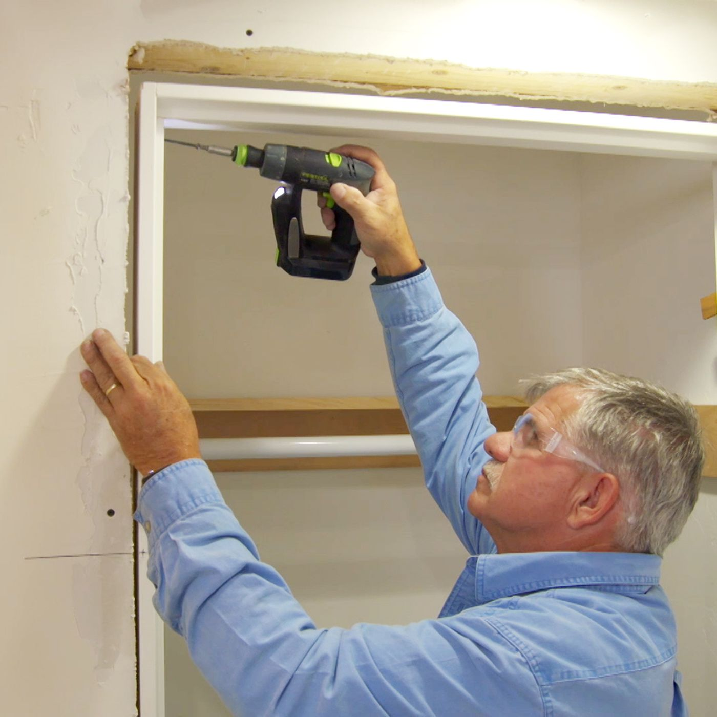 How to Install a Pre-Hung Interior Door - This Old House