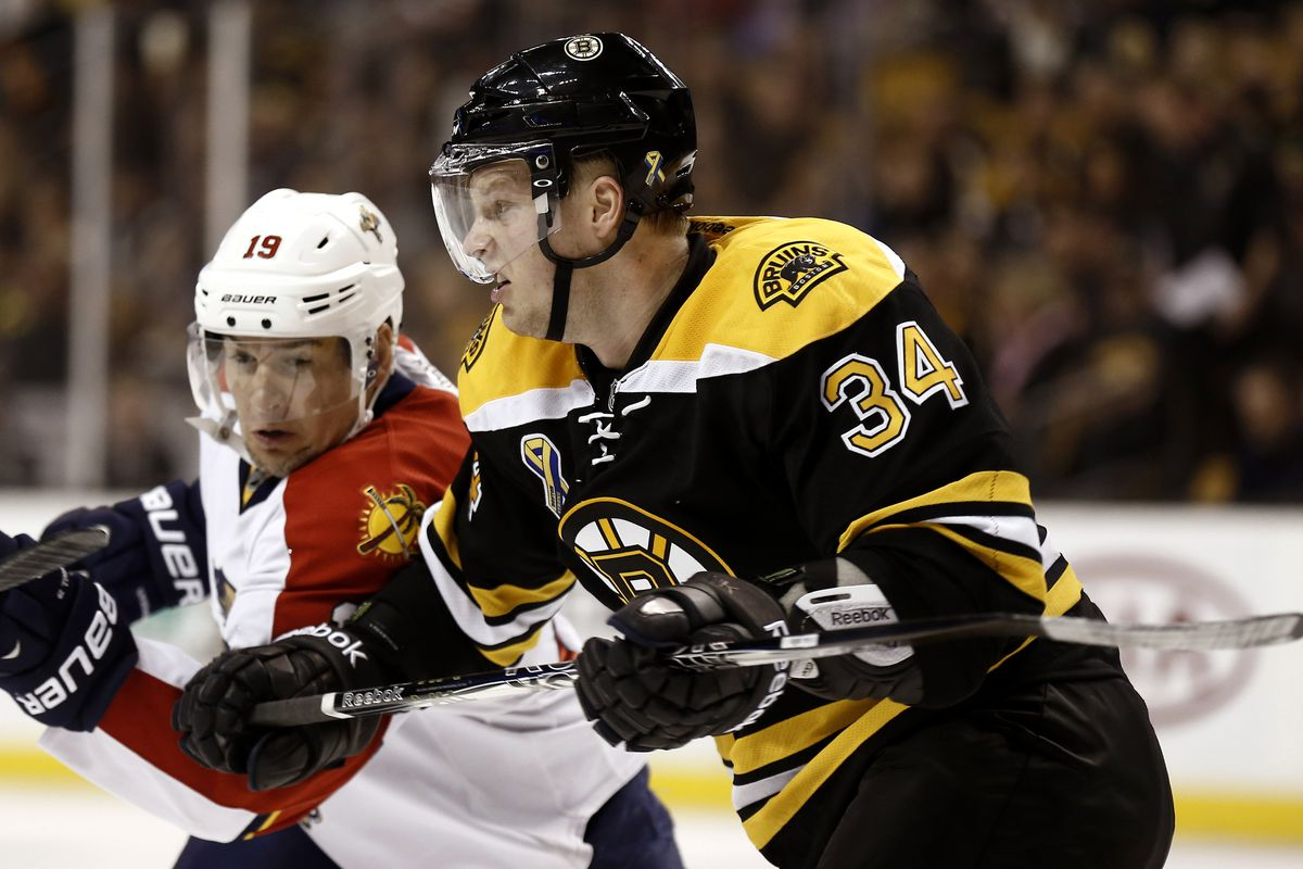 Yes, HFBoards, that really IS Carl Soderberg in a Bruins uniform!