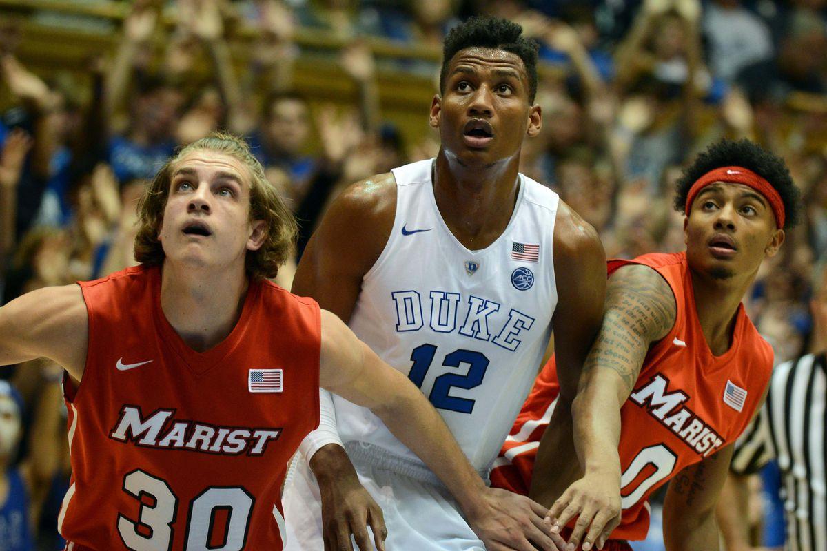 NCAA Basketball: Marist at Duke