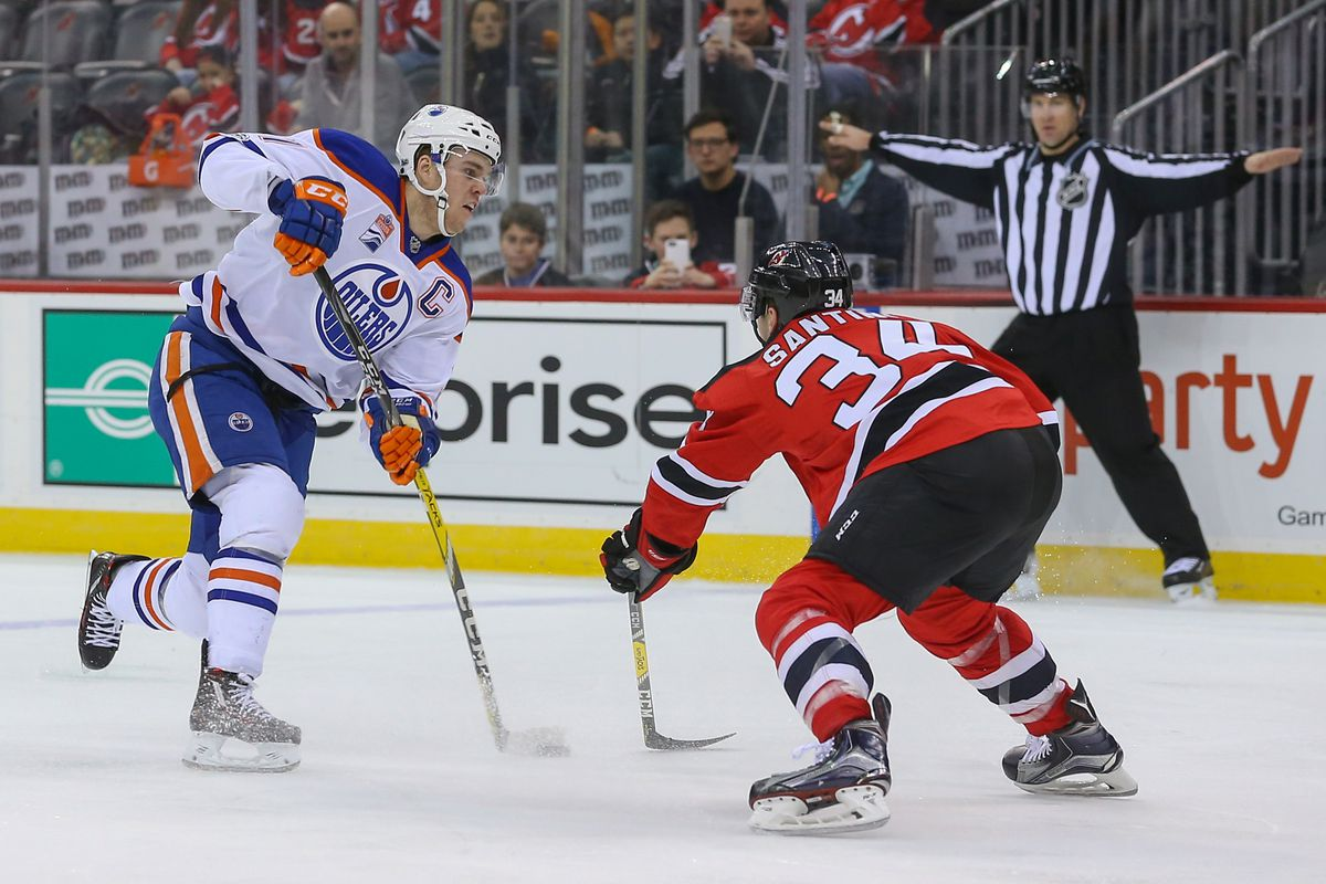 biggest discount 1427d 7ee3e Game Preview #43: New Jersey Devils at Edmonton Oilers - All ...