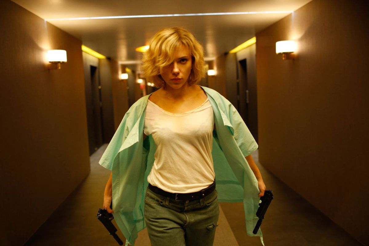 Scarlett Johansson was everywhere in 2014, and she was always terrific.