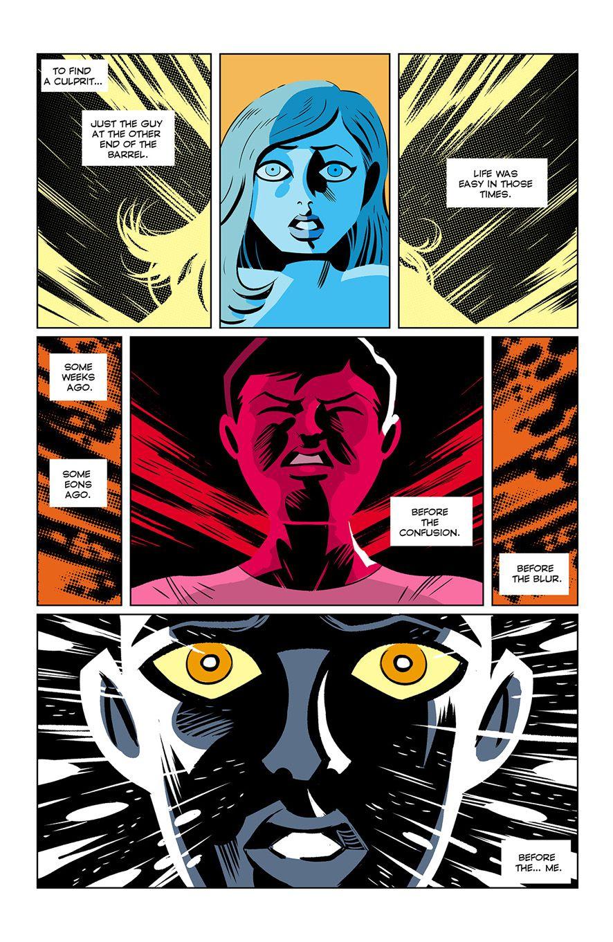 Victor Santos' new comic Paranoia Killer is a dark thriller with an unassuming cartoon look