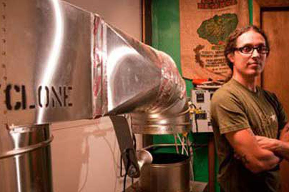 Chicago's Dark Matter small-batch coffee roaster