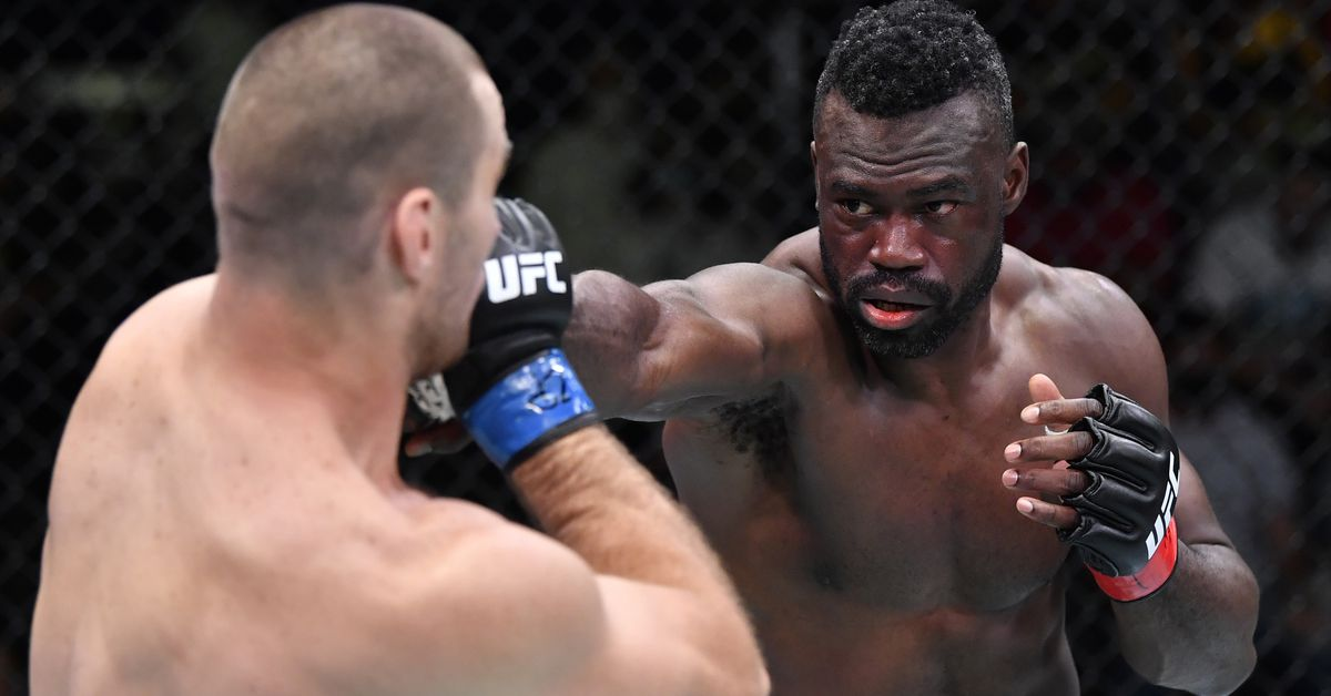 Uriah Hall releases statement after UFC Vegas 33 loss, vows 'I'll be back'