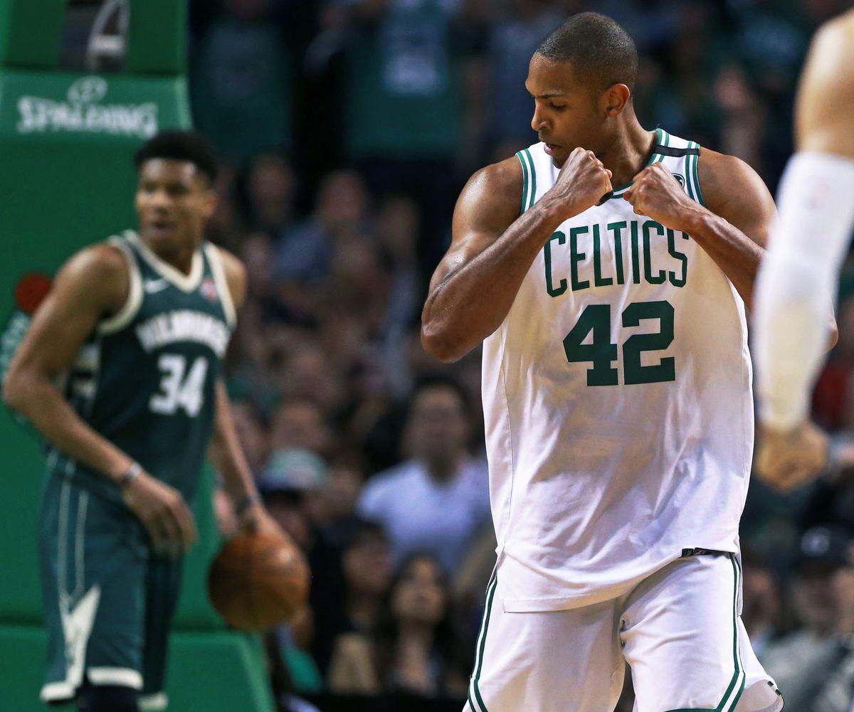 2018 NBA Playoffs: Milwaukee Bucks vs Boston Celtics At TD Garden