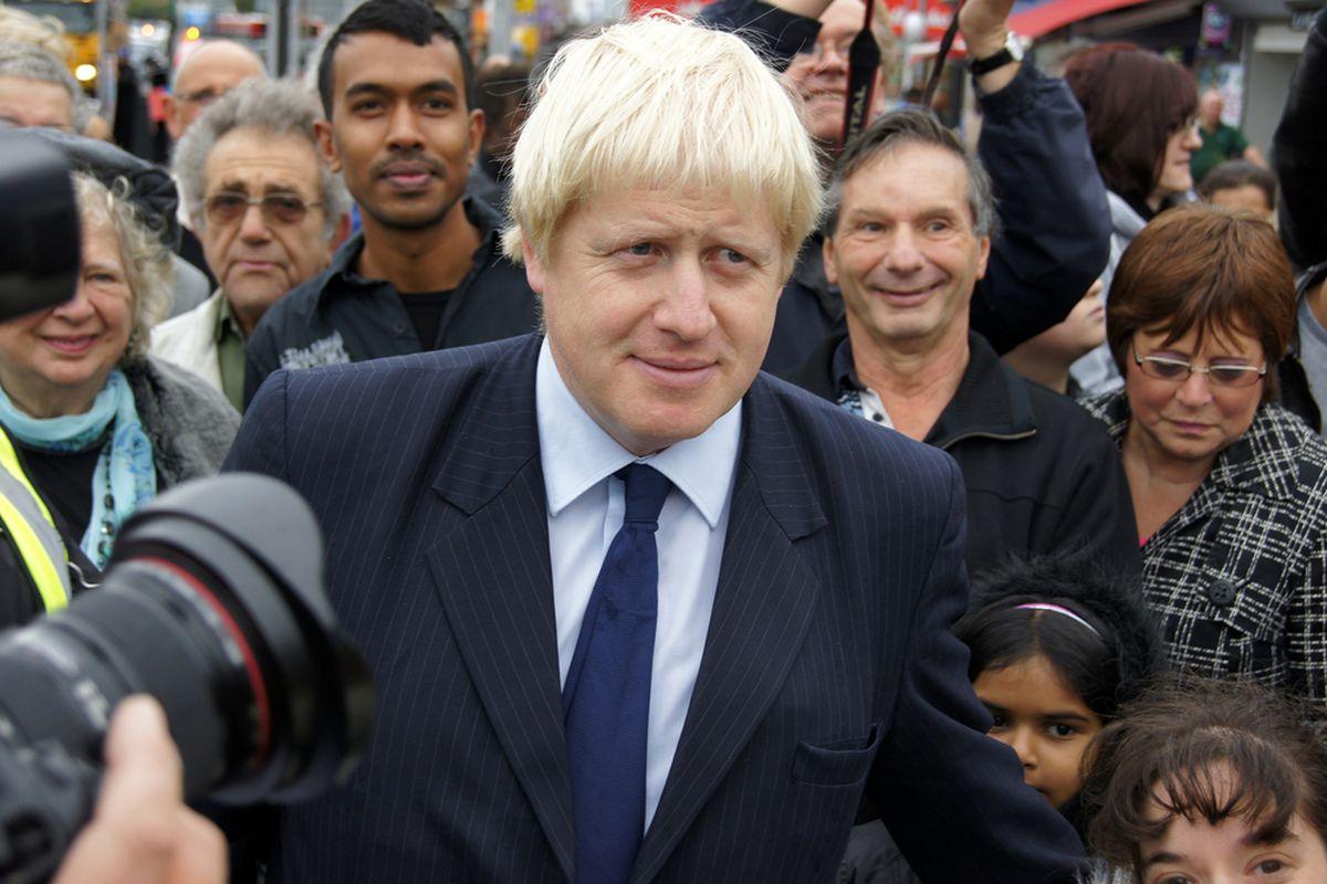 London mayor Boris Johnson (SHUTTERSTOCK)