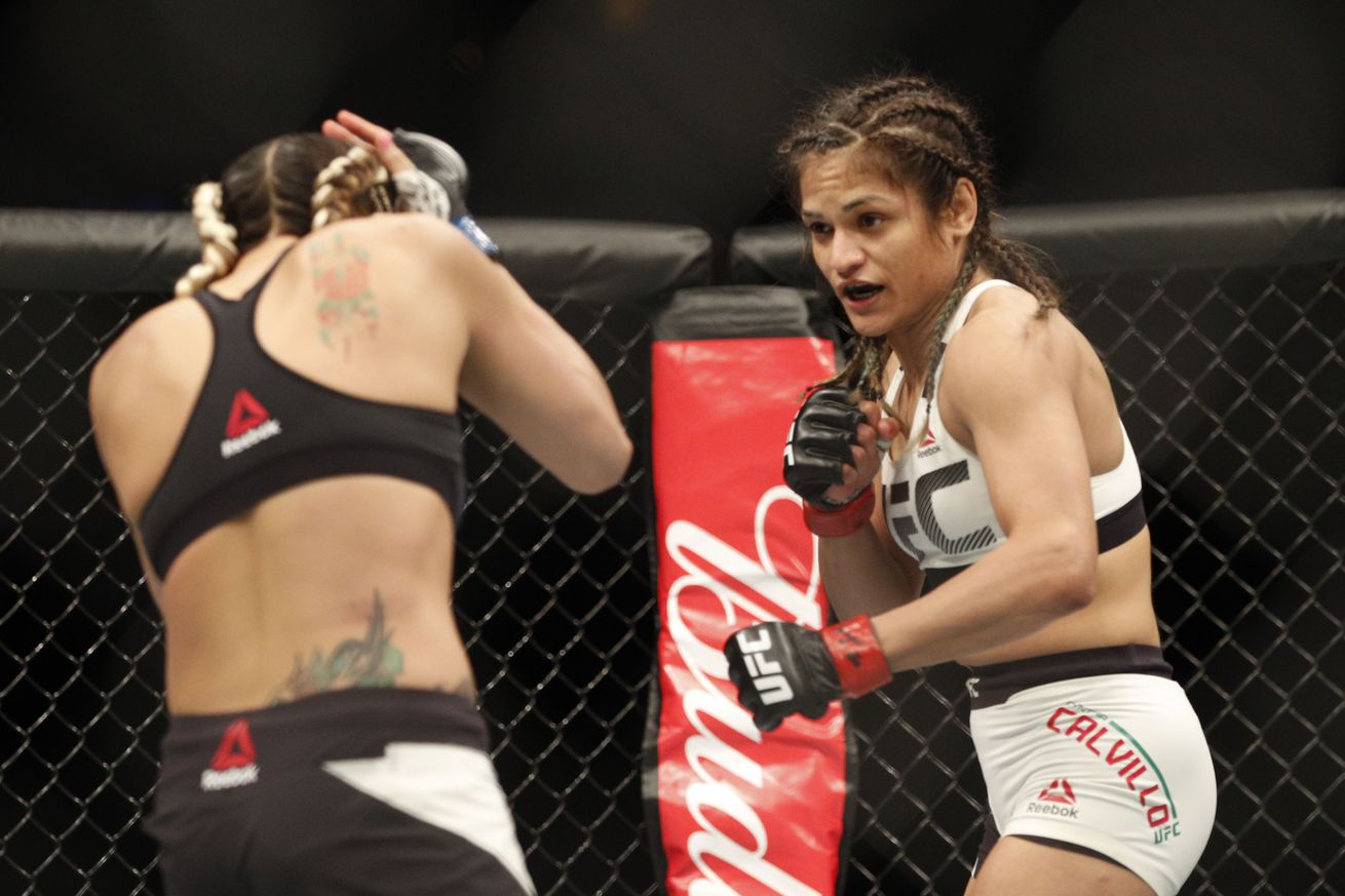 community news, UFC Fight Night 113 fight card: Joanne Calderwood vs Cynthia Calvillo preview