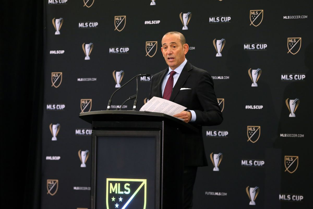 SOCCER: DEC 09 MLS Cup - State of the League Address