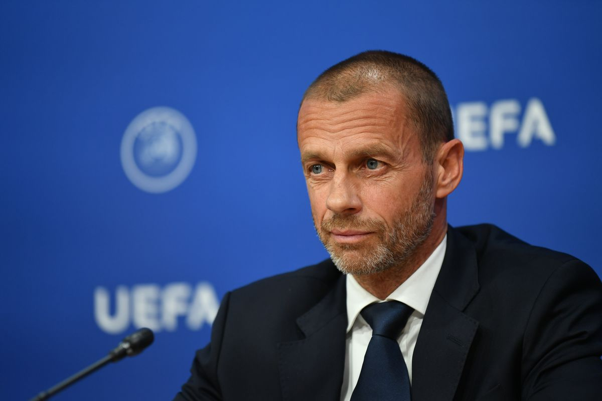 UEFA Executive Committee Meeting Press Conference - 17th June 2020