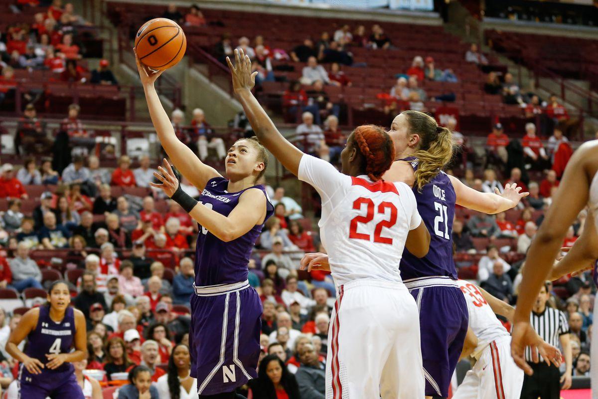 COLLEGE BASKETBALL: FEB 21 Women's - Northwestern at Ohio State