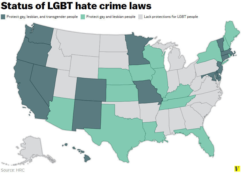status of lgbt hate crime laws