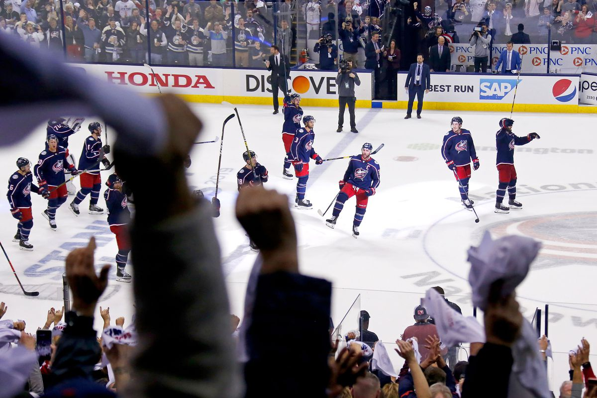 premium selection 77073 f0934 As the Columbus Blue Jackets wait for the second round, the ...