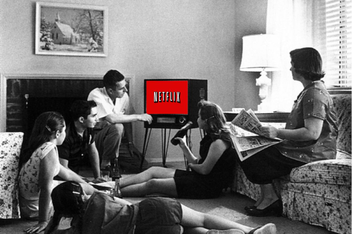 Netflix Will Start Blessing Some Internet Tvs With Its Logo
