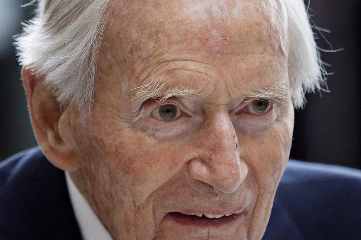 FILE - In this April 4, 2011, file photo of Danish ship-owner Arnold Maersk Mc-Kinney Moeller, who has died it is announced Monday April, 16, 2012.  Arnold Maersk Mc-Kinney Moeller, the Dane who created the global shipping and oil conglomerate A.P. Moller