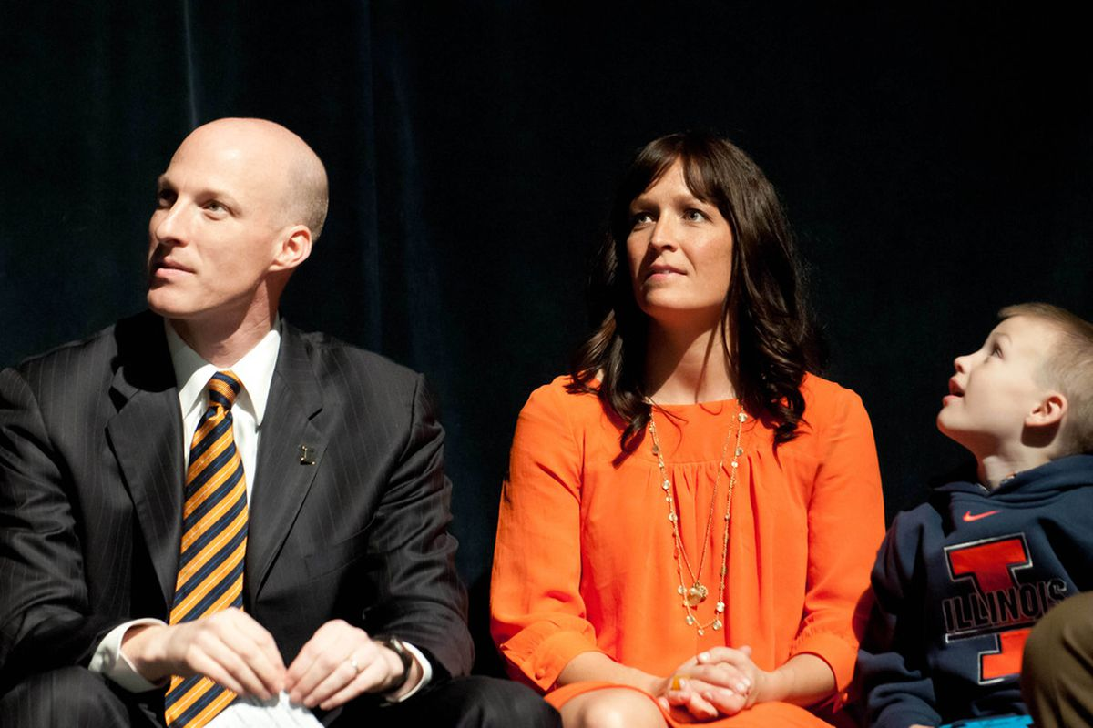John Groce and his wife spent Valentine's Day recruiting