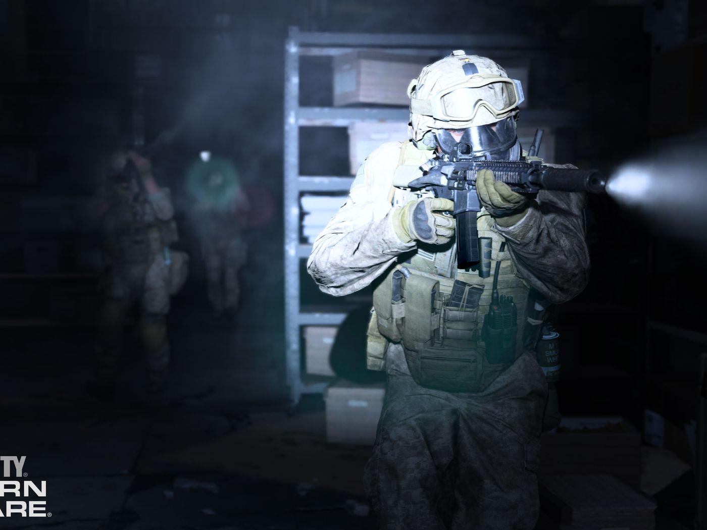 Call Of Duty Modern Warfare Review A Horrific Thrill Ride Polygon