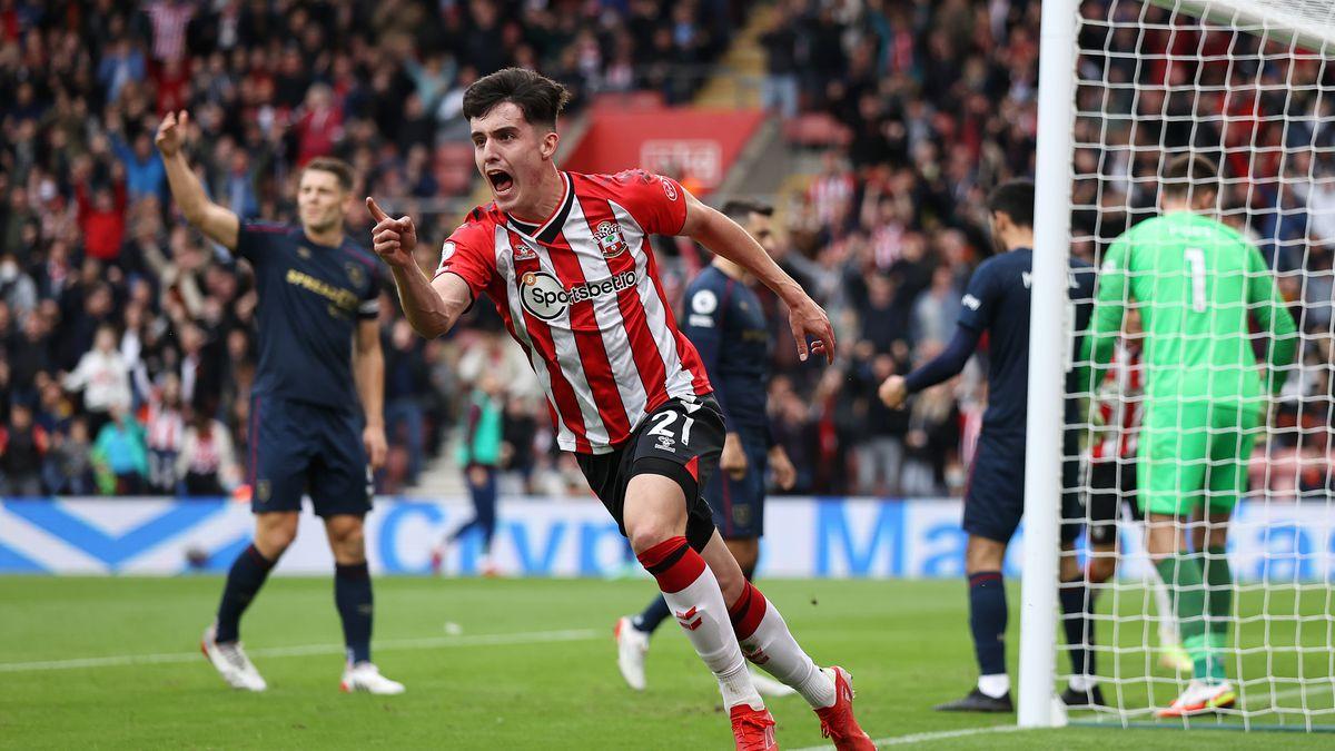 Southampton v Burnley - Premier League, match report, score, Tino Livramento, Armando Broja