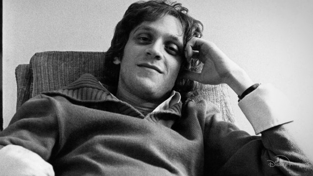 a black and white photo of howard ashman