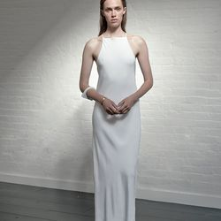 Modern bias cut dress, $595