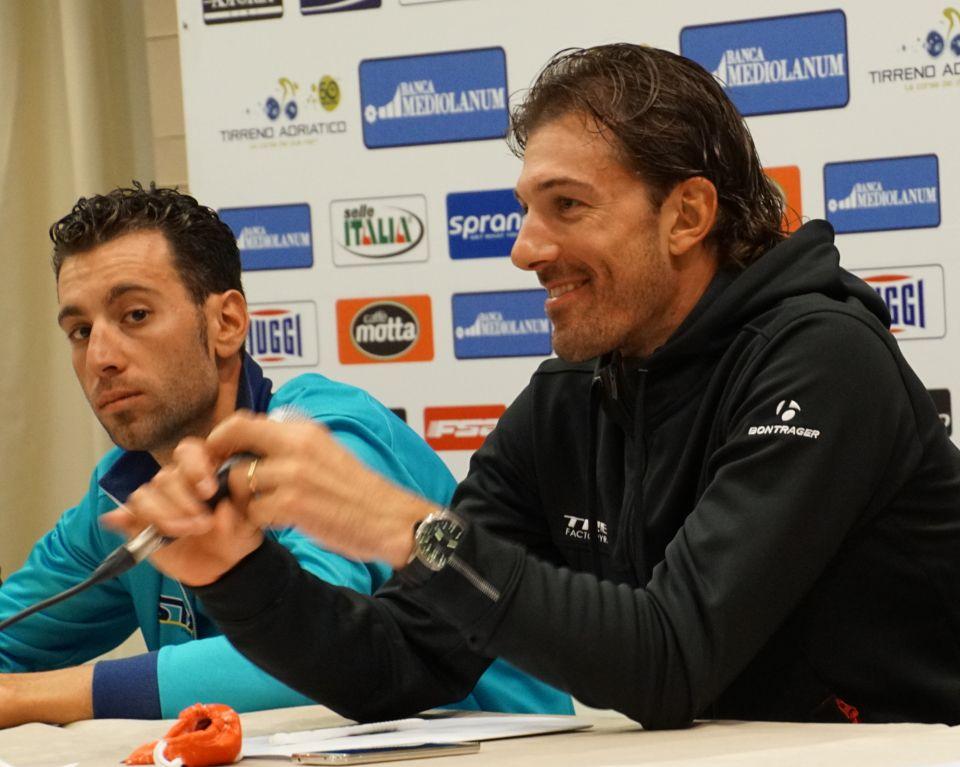 Cancellara and Nibali