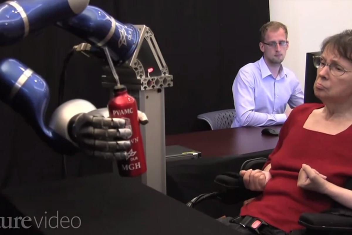 Brain Robot Arm