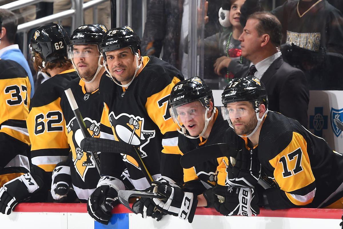 Penguins Advanced Stats Zone Entries Exit Data Presents