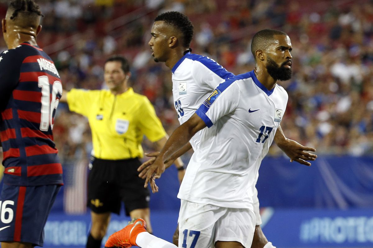 Soccer: 2017 CONCACAF Gold Cup-USA at Martinique