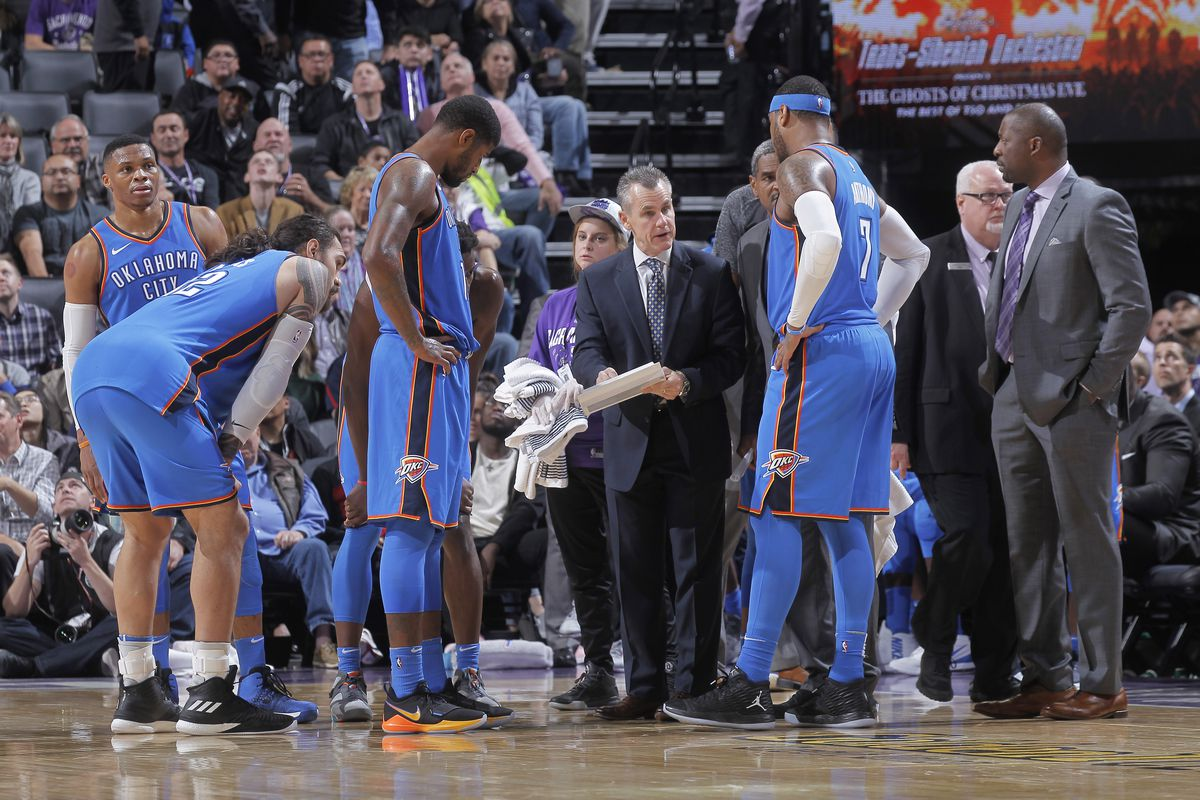Image result for Thunder vs kings 2018
