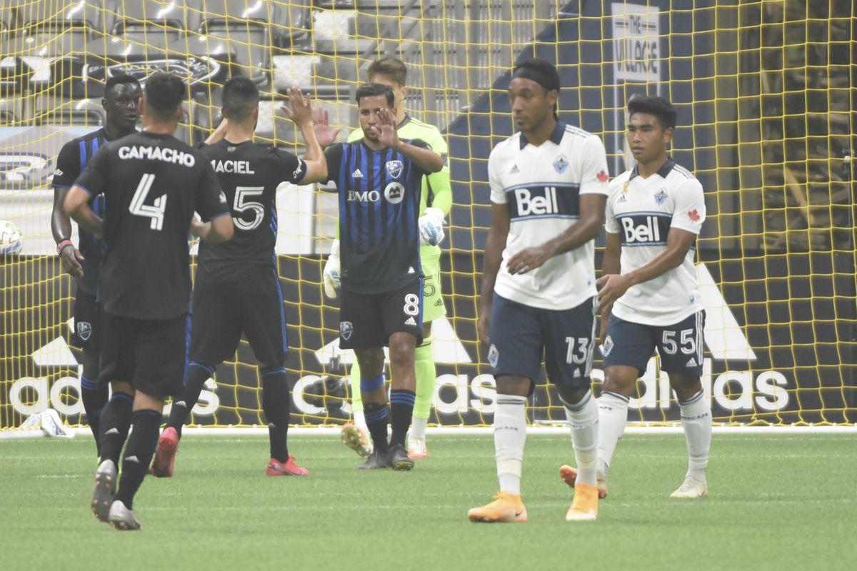 MLS: Montreal Impact at Vancouver Whitecaps FC