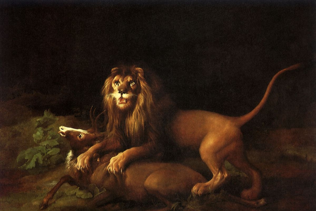 Lion and Stag
