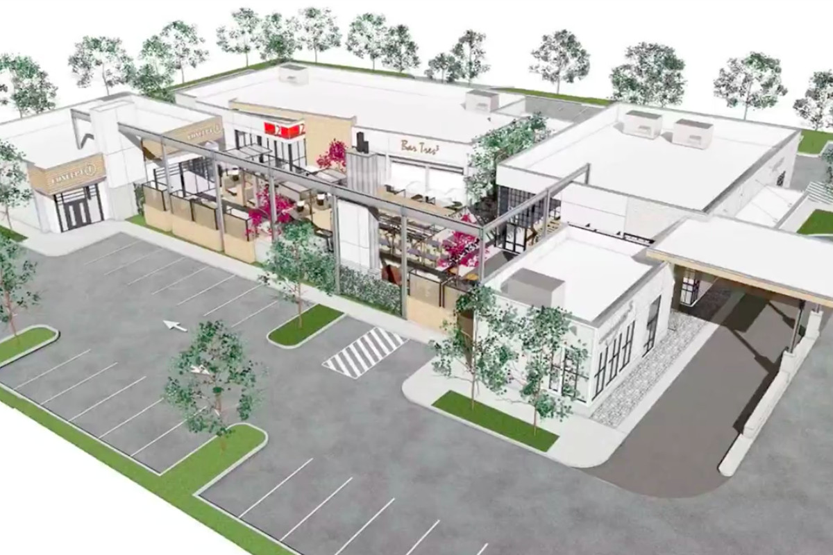 Concept for a new food hall in Alpharetta.