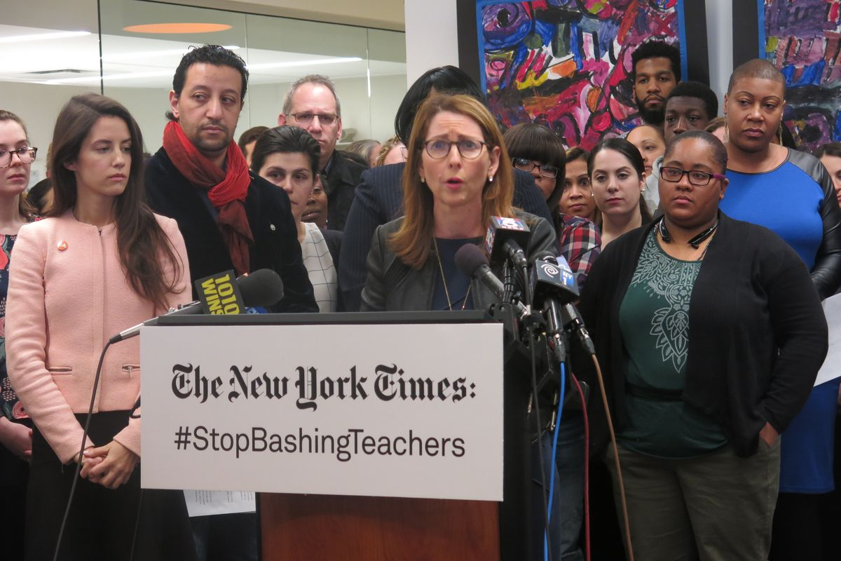 Eva Moskowitz defends Charlotte Dial after a video showed her yelling at a student.