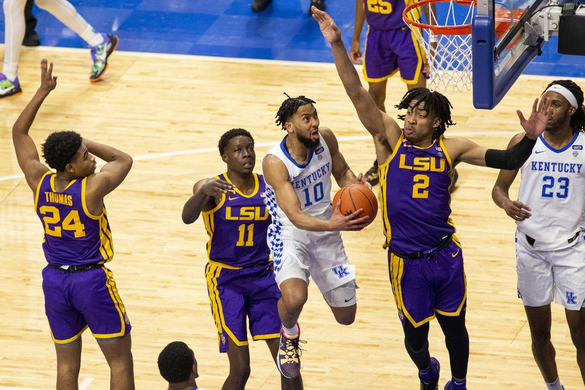 NCAA Basketball: Louisiana State at Kentucky