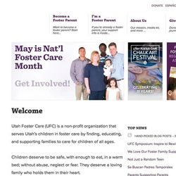 The Gerlach family is features on the Utah Foster Care website.